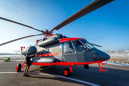Морской авиации ВМФ передали первый «арктический» вертолет Ми-8