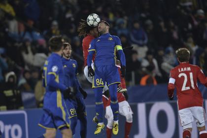 «Ростов» обыграл «Баварию» вЛиге чемпионов