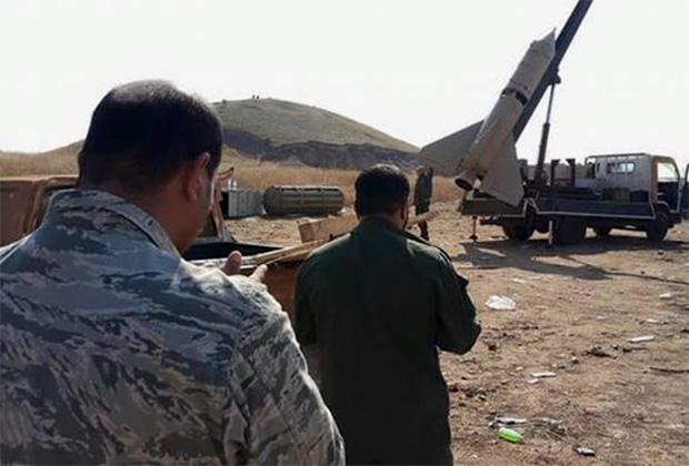Тактическая ракета группировки «Катаиб-Хезболла»