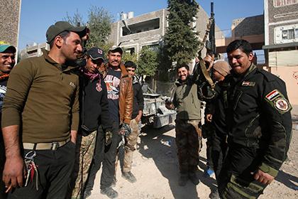 Иракские солдаты в Мосуле