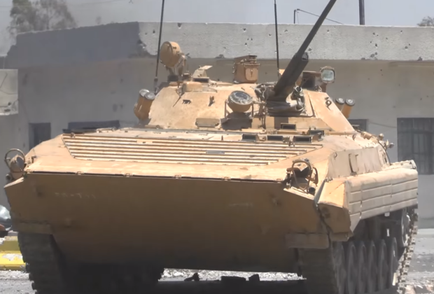 БМП-2 сирийской армии