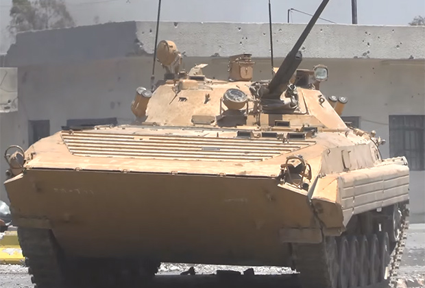 BMP-2 of the Syrian army