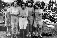 December 15-17, 1941 Jewish women before their execution in Skede, Latvia
