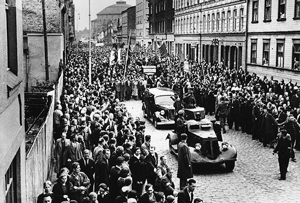 Латвия вошла в состав СССР в 1940 году