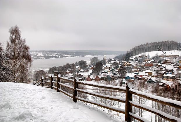 Вид с Соборной горы