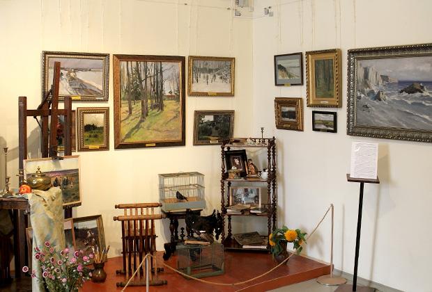 В Музее пейзажа богатая экспозиция русской живописи