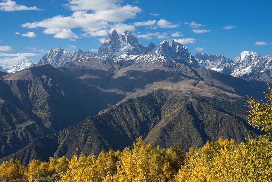 Ушба — одна из наиболее трудных для подъема вершин Кавказа
