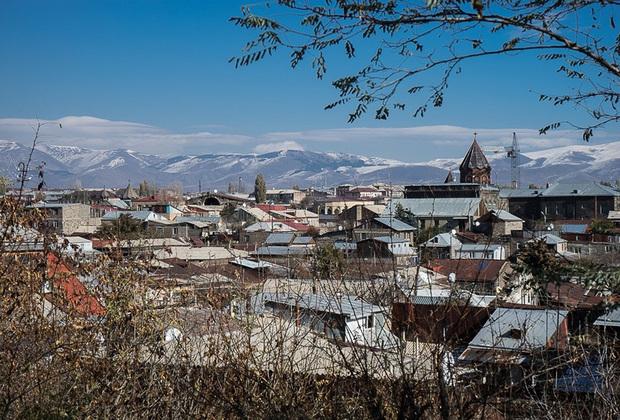 Гюмри, второй по величине город Армении