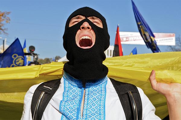 Марш в Киеве, приуроченный к годовщине образования Украинской повстанческой армии в Киеве.