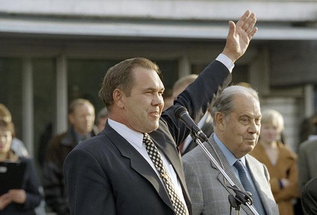 Российский политический деятель генерал Александр Лебедь