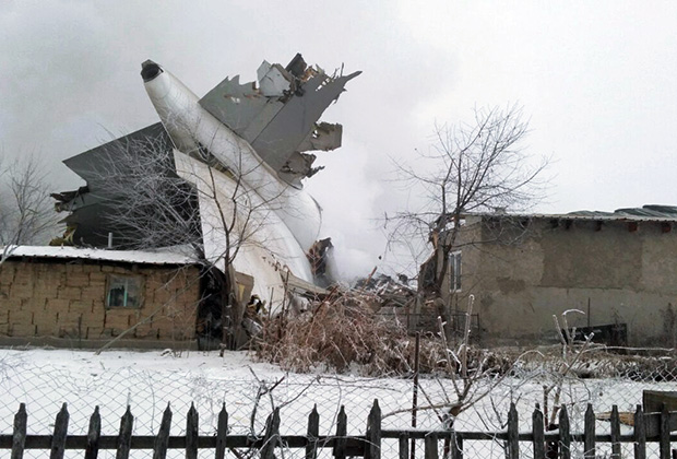 «Боинг 747-400» упал утром 16 января
