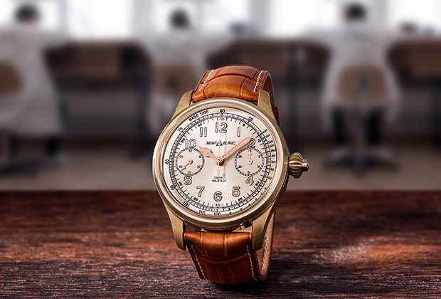 Хронограф Montblanc 1858 Chronometer Tachymeter Limited Edition 100