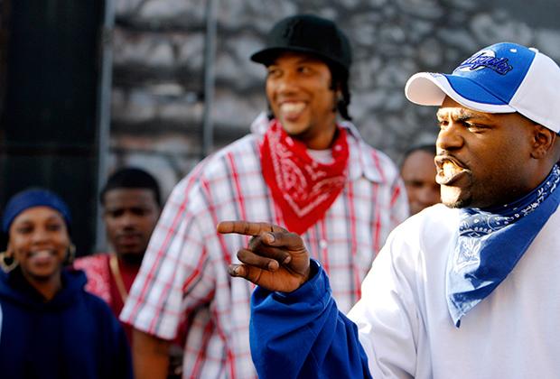 Члены рэп-группы Bloods & Crips