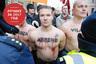 Манифестация членов радикальной националистической партии «Все — Латвии!»