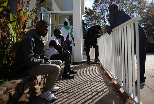 Квартал мигрантов в Нанте