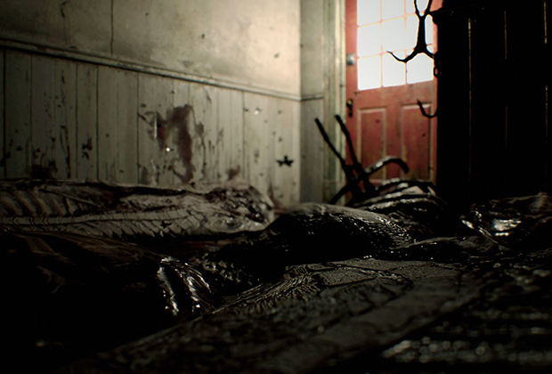 Поместье Бейкеров внушает чувство первобытного ужаса.