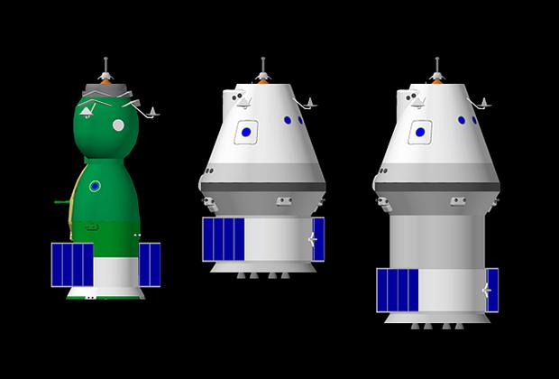 Корабли серий «Союз» и «Федерация» (околоземная и лунная версии)