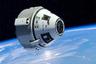 Корабль CST-100 на околоземной орбите (в представлении художника)