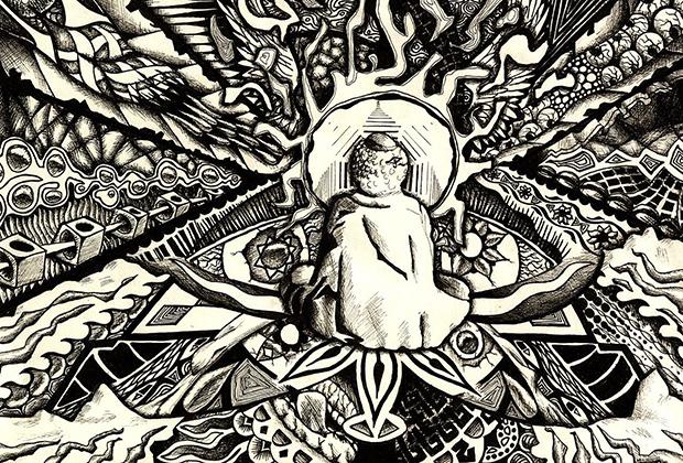 Зарисовка галлюцинаций под ЛСД