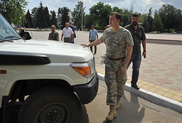 Первый глава ЛНР после пресс-конференции в Ростовской области