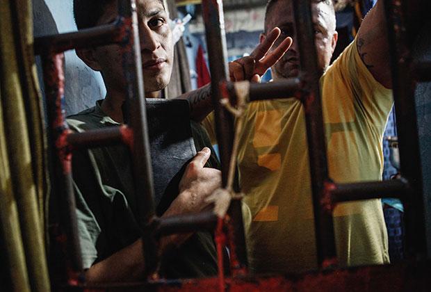 Заключенные тюрьмы в Манаусе
