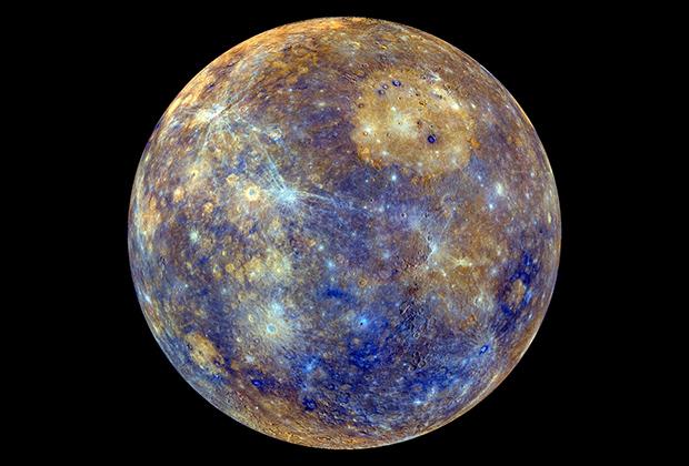 Цветная карта Меркурия
