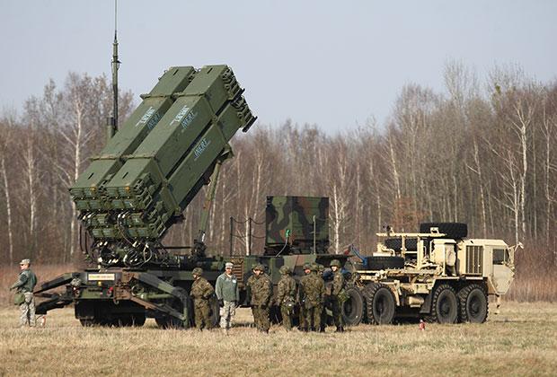 Американский ракетный комплекс в Польше. Март, 2015