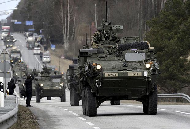 Американские военнослужащие в Эстонии