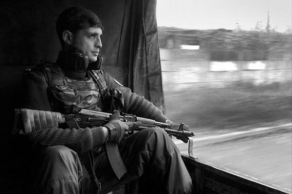 """Командир подразделения """"Сомали"""" с позывным """"Гиви"""""""