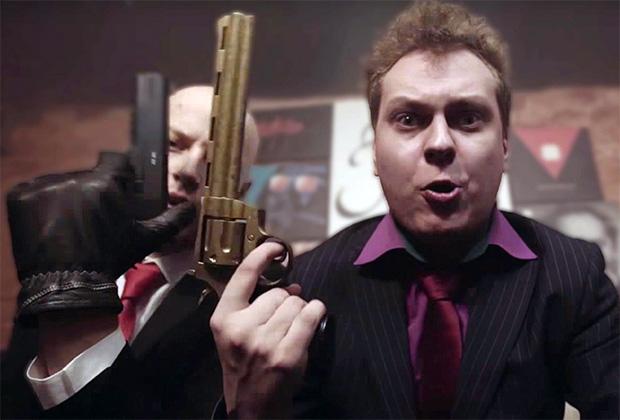 Юрий Хованский переквалифицировался из блогера в пародийного гангста-рэпера.