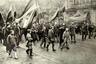 Демонстрация черносотенцев в Одессе вскоре после объявления «Манифеста 17 октября»