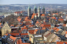 A view of the cathedral in Naumburg/Saale, Germany, 21 Janaury 2016. After the first application in summer 0215 failed, a second attempt is being made to register Naumburg Cathedral as a UNESCO world heritage site.