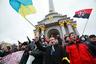 Акция сторонников евроинтеграции Украины на Площади Независимости в Киеве3