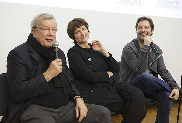 Виктор Ерофеев, Авдотья Смирнова и Александр Цыпкин