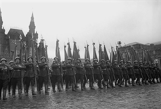 Парад Победы на Красной площади, 1945 год