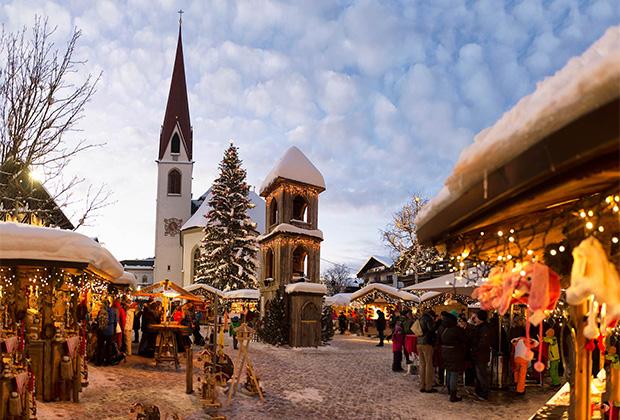 В Зеефельде многолюдно и зимой, и летом
