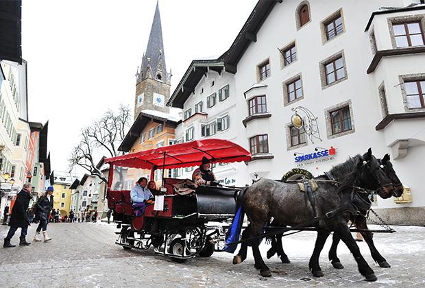 В Хохфильцене и других курортах региона можно прокатиться на лошадях
