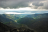 View of Lake Imandra from the Khibiny Mountains