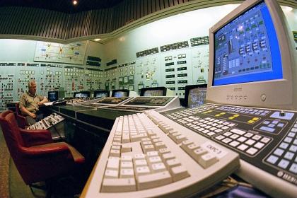 Пульт управления Запорожской АЭС