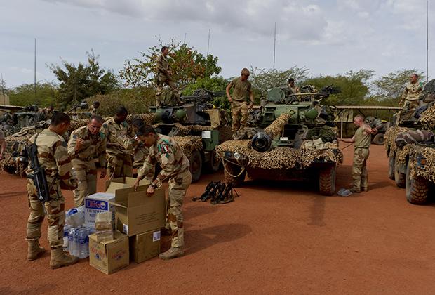 Бойцы Иностранного легиона, Мали, 2013 год