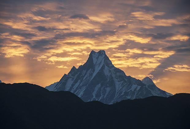 Гора Маччапучаре – пожалуй, самый красивый пик горного массива Аннапурны