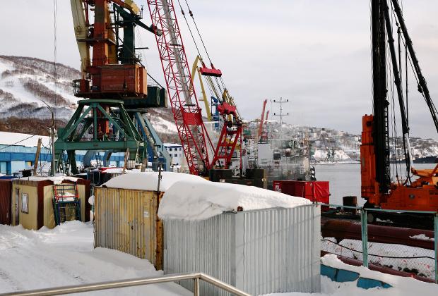 Петропавловск-Камчатский. После модернизации грузооборот порта должен увеличиться в восемь раз