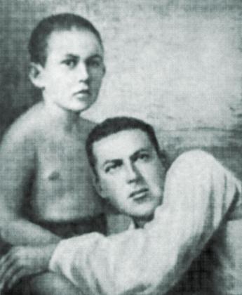 Фото из книги: А.М. Ларина-Бухарина. «Незабываемое». М., 2002.