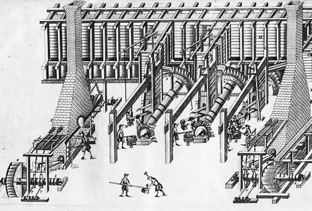 В начале XVIII века на Урале появились первые заводы. Некоторые из них передали в частные руки для повышения качества управления.