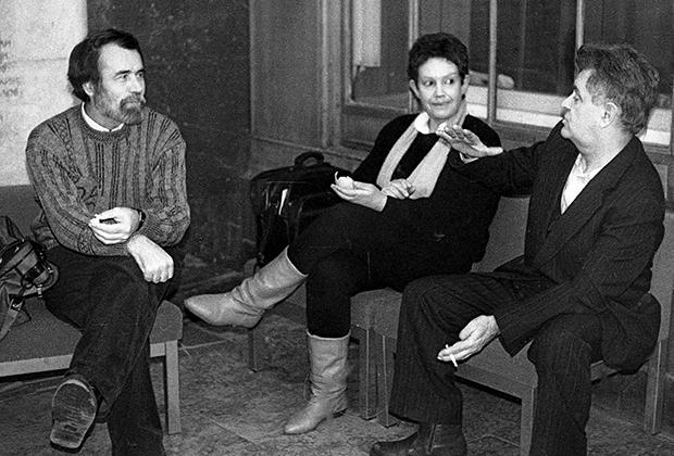 Владимир Маканин (слева) и Фазиль Искандер, 1979 год