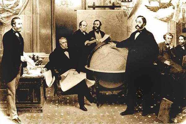 Подписание договора о продаже Аляски 30 марта 1867 года