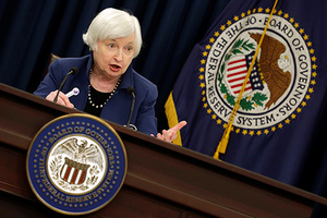 Federal Reserve Chair Janet Yellen speaks during a news conference after a two day Federal Open Market Committee (FOMC) meeting in Washington