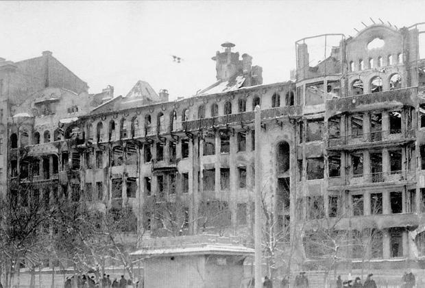 Тверской бульвар в ноябре 1917 года, дом Коробковой