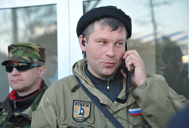 Командир «Рубежа» Владимир Мельник
