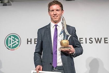 Самого молодого тренера в истории немецкой бундеслиги признали лучшим в стране